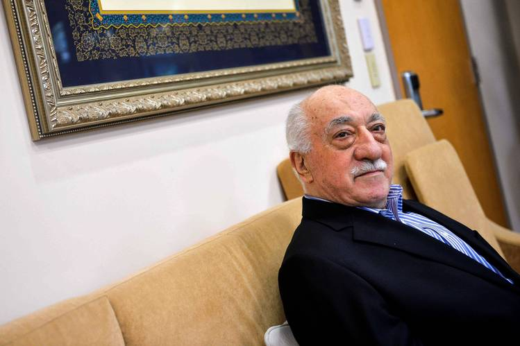 Turkish cleric Fethullah Gulen at home in Saylorsburg, Pa. The imam, long a U.S. resident, denies Turkish government allegations he directed a coup attempt in July. PHOTO: CHARLES MOSTOLLER/REUTERS